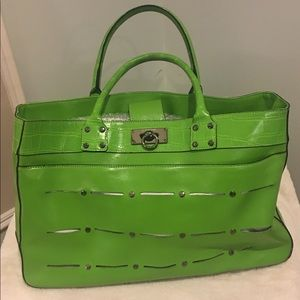 Anne Klein Lime Green Tote